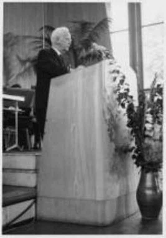 Gedenkfeier, Auditorium Maximum der Freien Universität Berlin, 19.07.1964