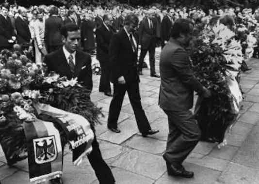 Gedenkfeier, Gedenkstätte Plötzensee, Berlin, 20.07.1981