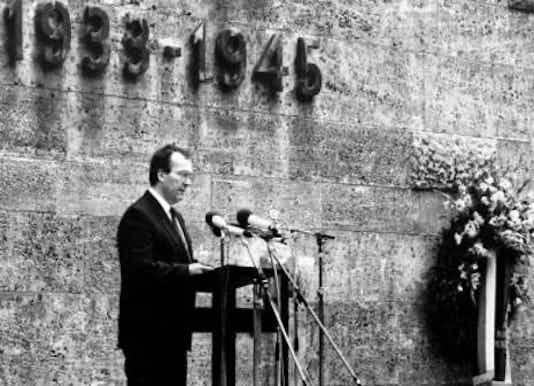 Gedenkfeier, Gedenkstätte Plötzensee, Berlin, 20.07.1983