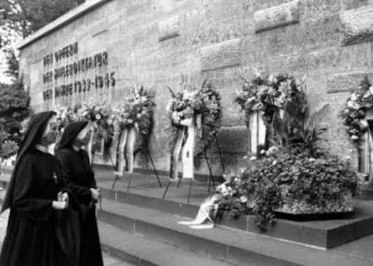 Gedenkfeier, Gedenkstätte Plötzensee, Berlin, 20.07.1993