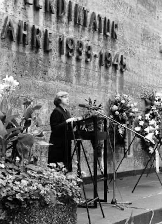 Gedenkfeier, Gedenkstätte Plötzensee, Berlin, 20.07.1995