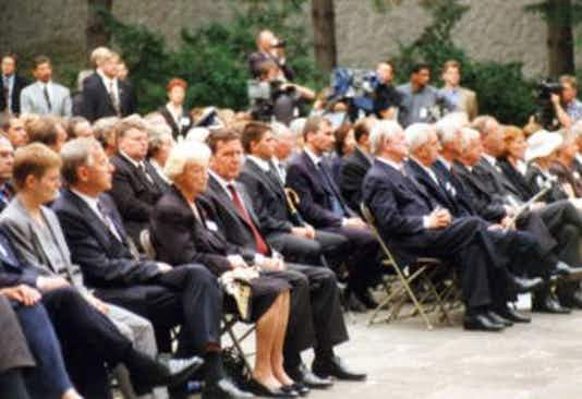 Gedenkfeier, Gedenkstätte Plötzensee, Berlin, 20.07.1999