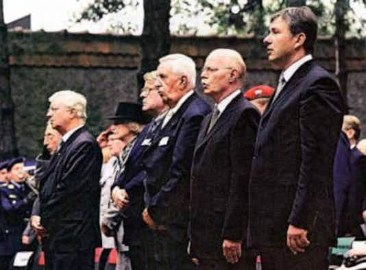 Gedenkfeier, Gedenkstätte Plötzensee, Berlin, 20.07.2002