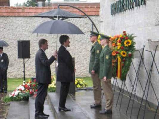 Gedenkfeier, Gedenkstätte Plötzensee, Berlin, 20.07.2005