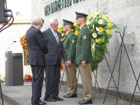 Gedenkfeier, Gedenkstätte Plötzensee, Berlin, 20.07.2006