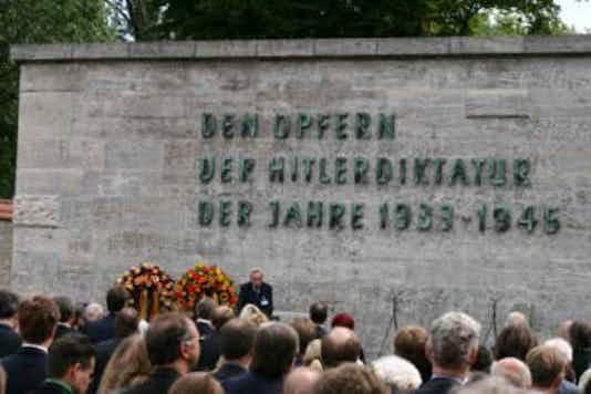 Gedenkfeier, Gedenkstätte Plötzensee, Berlin, 20.07.2008