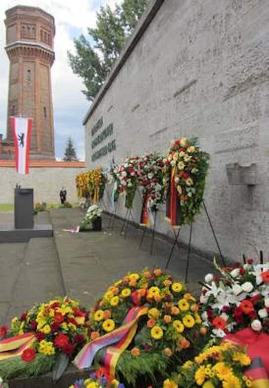 Gedenkfeier, Gedenkstätte Plötzensee, Berlin, 20.07.2012