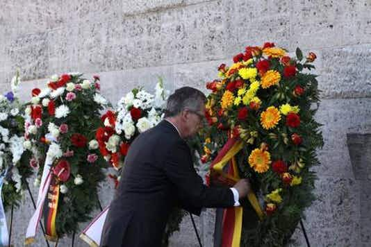 Gedenkfeier, Gedenkstätte Plötzensee, Berlin, 20.07.2013