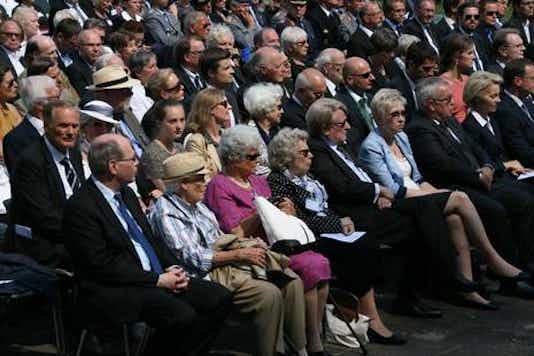 Gedenkfeier, Gedenkstätte Plötzensee, Berlin, 20.07.2015