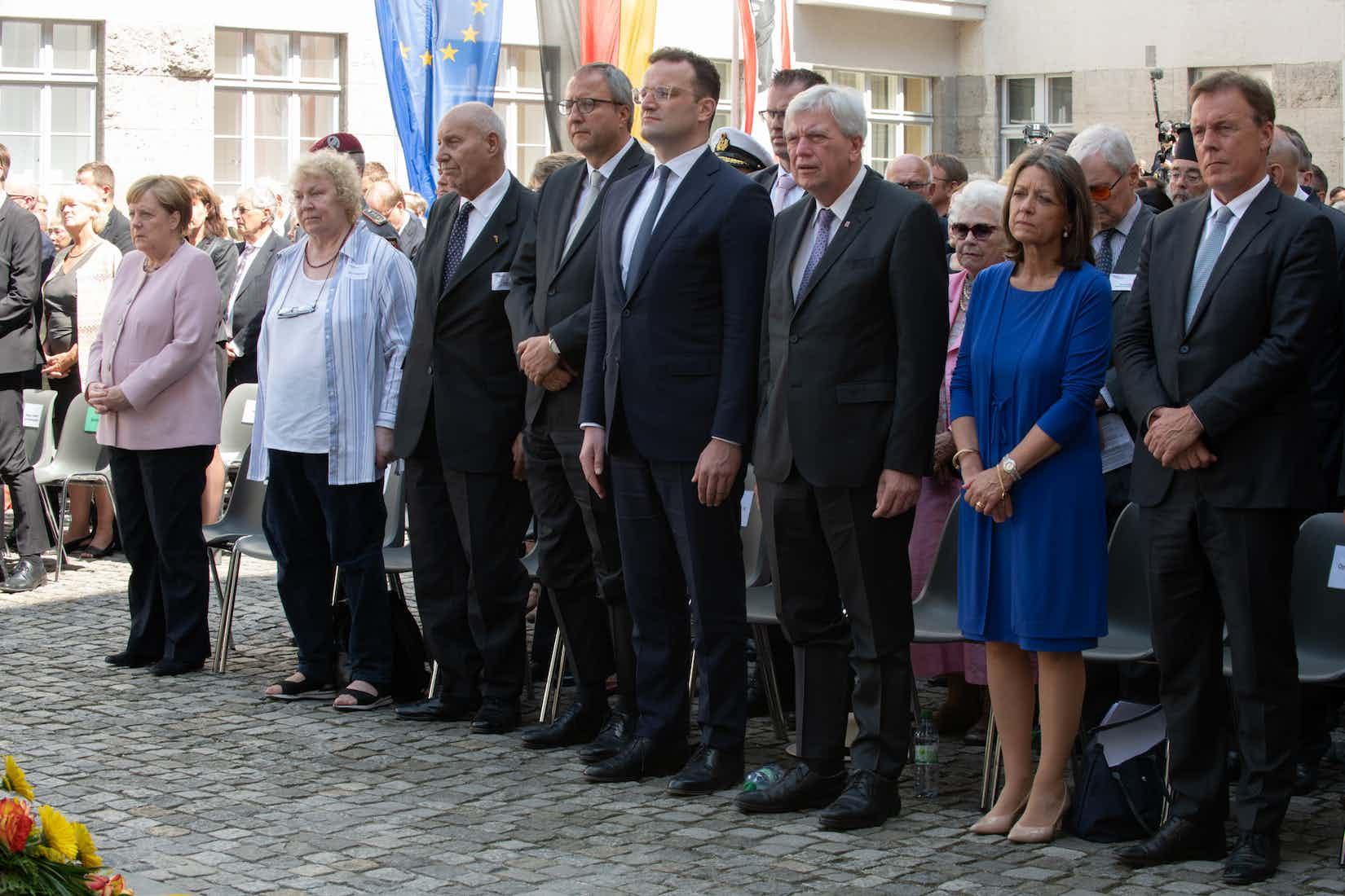 Gedenkfeier im Ehrenhof des Bendlerblocks / 75. Jahrestag / 20. Juli 2019
