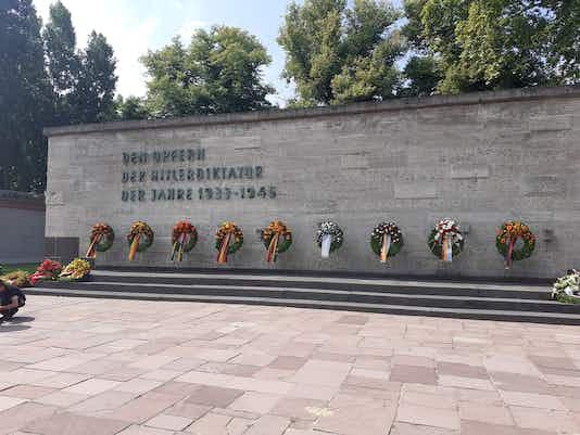 76. Jahrestag, Gedenkfeier Plötzensee