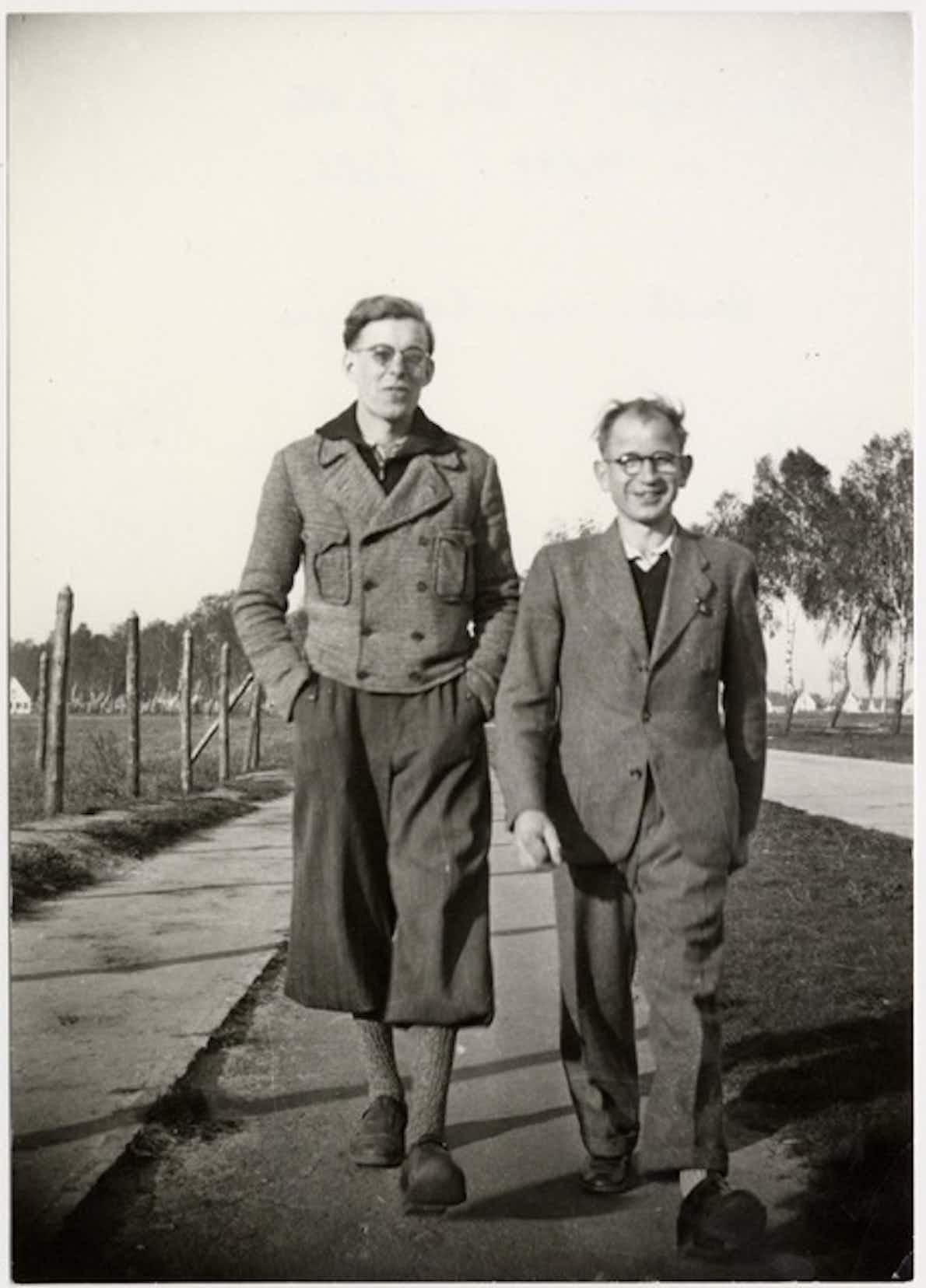 Hans Coppi mit Karl Grabbe