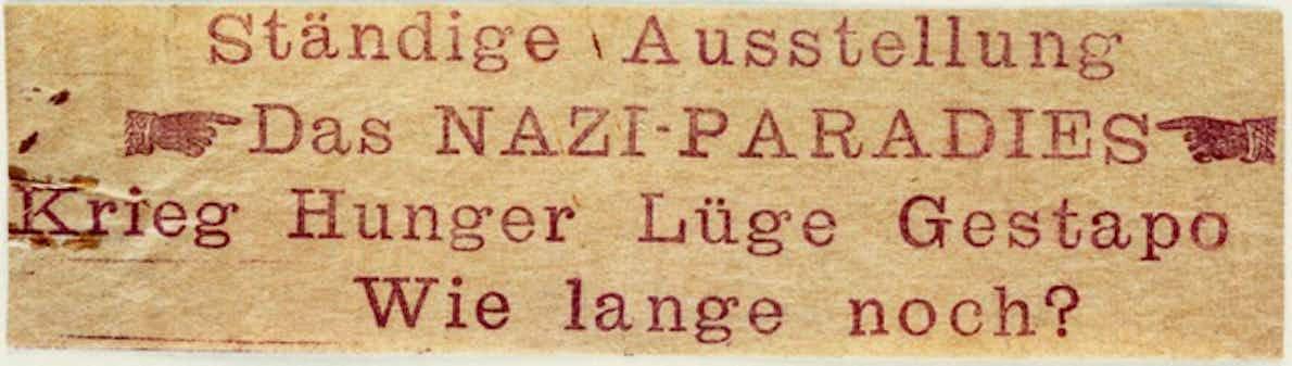 Flugblatt
