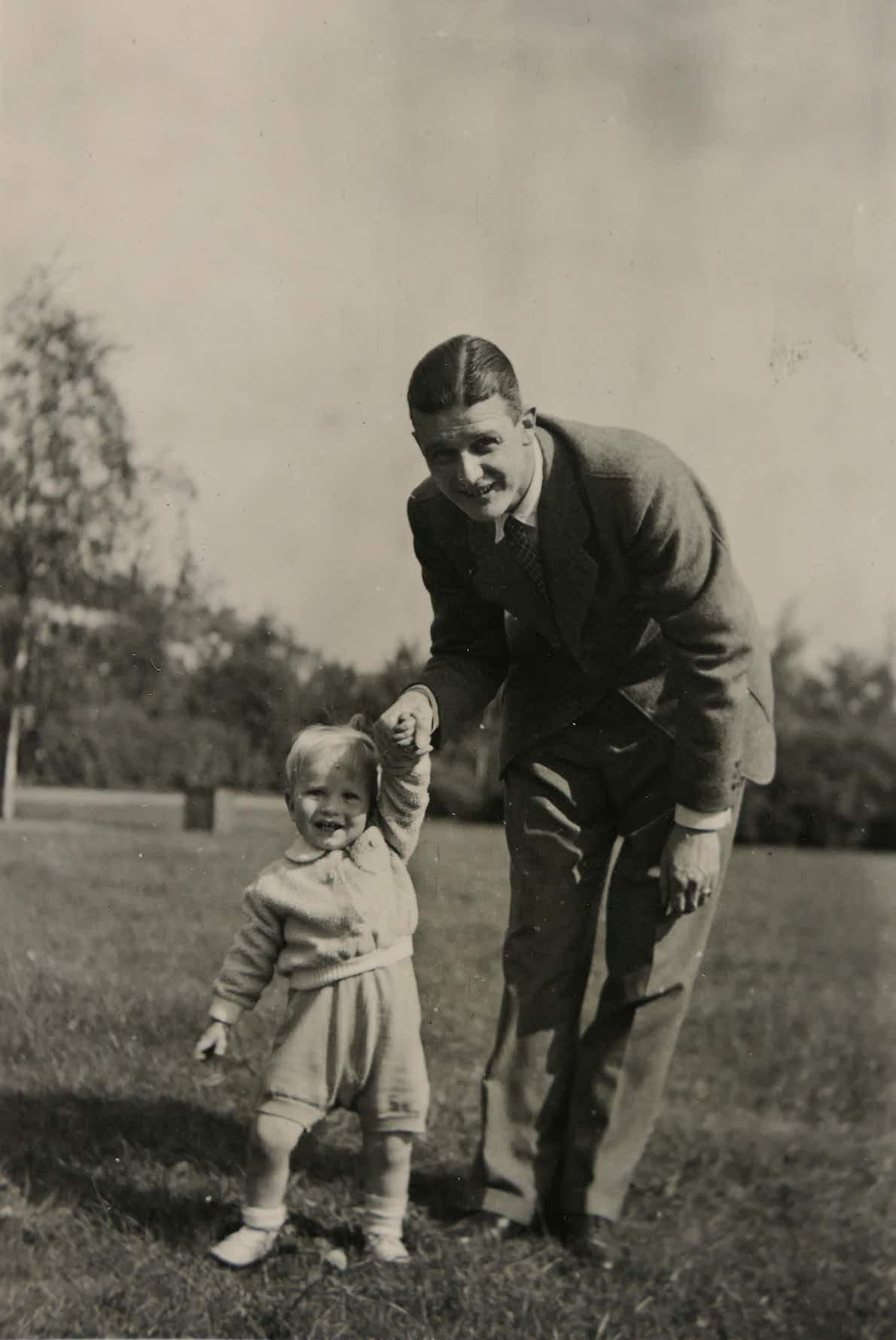 Hans-Otfried mit Sohn Hans-Harald