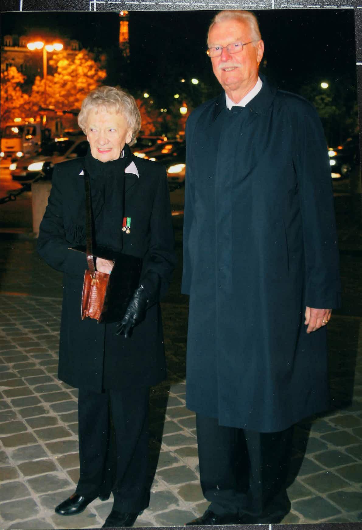 Hans-Harald von Linstow mit Lysiane Tellier